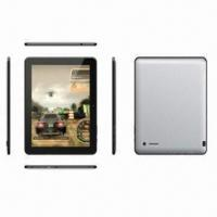 Buy cheap 10-inch Capacitive Tablet PC, Android 4.0+0.3/2.0MP Camera+Bluetooth+1,080P HD from wholesalers