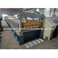 China CE Forming Speed 30m/Min High Speed Roll Former Machine CNC Processed Rollers on sale