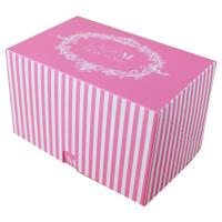 Buy cheap Logo Printed Eco Friendly Box Packaging , Biodegradable Cupcake Boxes Space Saving product