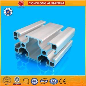 Quality Aluminium Extrusion Profile , Anodizing 40 x 80 / 80 x 80Aluminium Profile For Industrial for sale