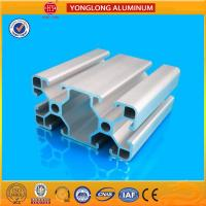 Quality Durable T5 Temper Aluminium Industrial Profile 40 x 80 / 80 x 80 for sale
