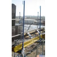 Buy cheap Q235 Steel Slab Shuttering System Guarding Railing Post For Steel Work Safety product