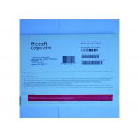 China OEM Package Microsoft Windows 7 Professional License Key Software DVD / COA License on sale