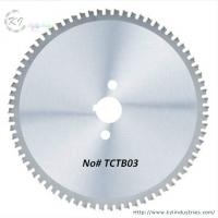 Buy cheap TCT Circular Saw Blade for Cutting Steel / Iron and SS304 Pipe product