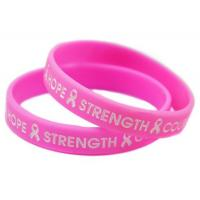Buy cheap Custom Promotional Silicon Bracelet,Adjustable Silicon Wristband,Promotion Wrist Band,Rubber band product