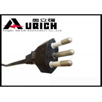 Buy cheap Brazil Inmetro 3 Prong TV Power Cord With Standard Copper Conductor Customized product