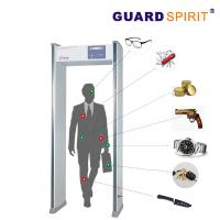 Buy cheap Multi Zones Walk Through Metal Detector Security Detection Filter Guns And Weapons product
