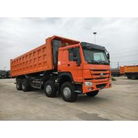 Buy cheap High Loading Capacity 12 Wheeler Dump Truck With Safety Hydraulic Control System product