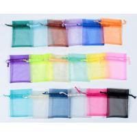 China organza gift bag with different colors wholesale