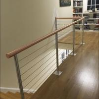Buy cheap Mirror/Brushed Solid Rod Stainless Steel Balcony Railing product