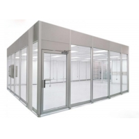 Buy cheap 220V 60HZ Prefab Cleanroom Booth / Class 100 Softwall Modular Cleanrooms product