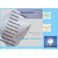 Buy cheap White Crystalline Local Anesthetic Agents Benzocaine CAS 94-09-7 Relieve Pain For Surgery product