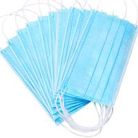 Buy cheap Nonwoven Anti Dust 3ply Civil Disposable Nose Mask product