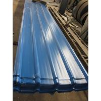 Buy cheap 1500 - 3800mm Length JIS G3322 CGLCC, ASTM A792 Prepainted Corrugated Steel Roof Sheets product