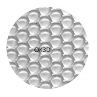 Buy cheap HOT microlens DOT array lenticular lens sheet with DOT 3D effect  /Parallex 3D lenticular Lens for 3d lenticular print product