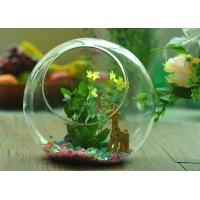 Buy cheap Gift Hanging Teardrop Tealight Holder / Hanging Glass Terrarium Containers product