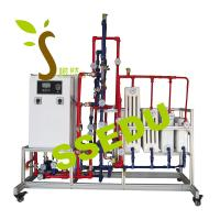 China Educational Equipment Technical Teaching Equipment Trainer Central Geo Thermal Heating System on sale