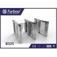 Buy cheap Optical Swing Barrier Gate , Fingerprint Controlled Access Turnstiles Security Gate product