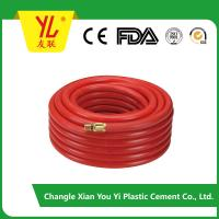 Buy cheap 8.5mm durable high pressure fiber braided flexible pvc air hose product