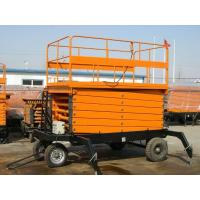 Buy cheap 300kg mobile hydraulic scissor lifting platform Safety with Heavy load capacity product