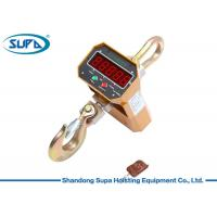 Buy cheap Compression Measure Digital Crane Scale 125% F.S. Max Safety Load For Steel Market product
