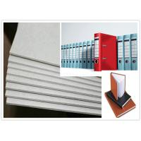Buy cheap Roll and Sheets Grey Board / Grey Chipboard for Book Cover / Arch file product