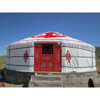 Buy cheap 30 Square Meters Luxury Traditional Mongolian YurtWith High Frequency Welding product