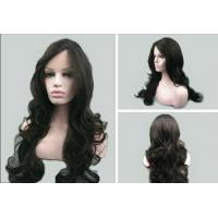 China 100% Unprocessed Dark Brown Lace Front Human Hair Wigs With Baby Hair on sale
