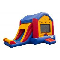 Buy cheap Indoor Playground Inflatable Jumping Castle , Entertainment Inflatable Amusement Park product