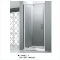 Buy cheap Glass Pivot Door Shower Enclosures With Frame Square Shower Stall Easy Install product