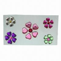 Buy cheap Crystal Acrylic Rhinestone Sticker for Card, Scrapbook, Gifts, Mobile, Wall, Door, Fridge, Creative  product