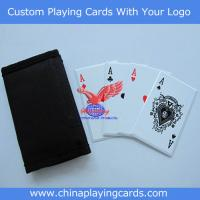 China bicycle quality plastic playing cards on sale