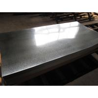 Buy cheap Zero Spangle Hot Dipped Galvanized Steel Sheet , Anti-Finger Treatment ( Acrylic coating ) product