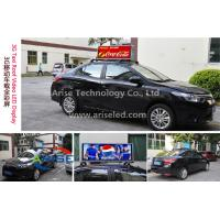 Buy cheap Waterproof IP65 Video Car LED Sign Display ,Taxi LED banner signs/ Car LED Sign Display:P4 product