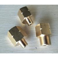 Buy cheap Processing custom all kinds of pipe fitting,Adapte,CNC machining, brass fitting, made in China professional manufacturer from wholesalers