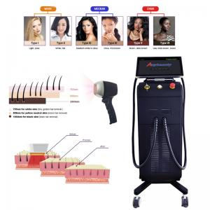 Buy cheap Painless Fast Full Body CE 808 Diode Laser Hair Removal Machine product