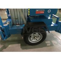 China 10m Hydraulic Truck Mounted Aerial Lift Dual Mast For Outdoor Maintenance Work on sale