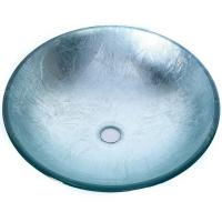 Buy cheap Artificial Glass Type Wash Basin / Glass Basin Round Model Carton Packing product