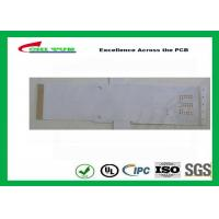 Buy cheap White Color Flexible PCB Design Single Sided with Immersion Gold product