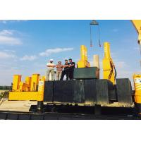 Quality Concrete Hydraulic Static Pile Driver , Square Pile Driving Equipment for sale