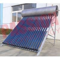 Buy cheap Roof Flat Solar Water Heater / Copper Pipe Solar Water Heater For Washing product
