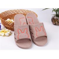 Buy cheap Colorful Cute Comfortable House Slippers With Bunny Rabbit Pattern Customized Size product