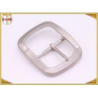 Buy cheap Custom Silver Plated Pin Belt Buckle / Mens Fashion Belt Buckles product