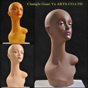 China female wig display head on sale