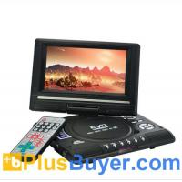 China 7 Inch Swivel Screen Portable DVD Player (Remote, TV, Region Free) on sale