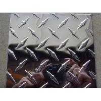 Buy cheap Two Bars Embossed Aluminum Sheet H12 Temper ATSTM AISI JIS EN GB product