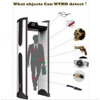 Buy cheap Rapid Installation Portable Walk Through Metal Detector Door Frame With Lcd Screen product