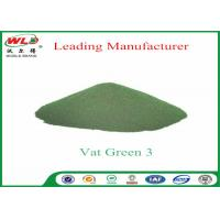 Buy cheap OEM Indigo Vat Dye C I Vat Green 3 Olive Green B Vat Dyes And Pigments Journal product