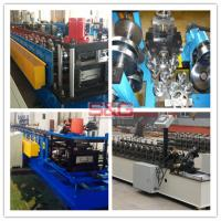 Buy cheap Fully Automatic Steel Roof Roll Forming Machine , False Ceiling Channel Making Machine product