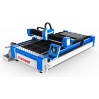 Buy cheap 3D Cnc Laser Cutting Machine For Metal , 3d Laser Cutter Gantry Structure product